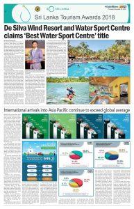 Sri Lankanischer Tourismuspreis für die beste Kitesurfschule in Sri Lanka