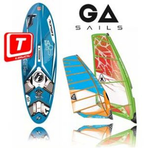 tabou surfboards gaastra sails
