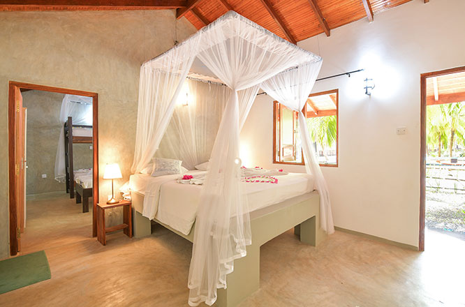 kitesurf family rooms at kite hotel in sri lanka