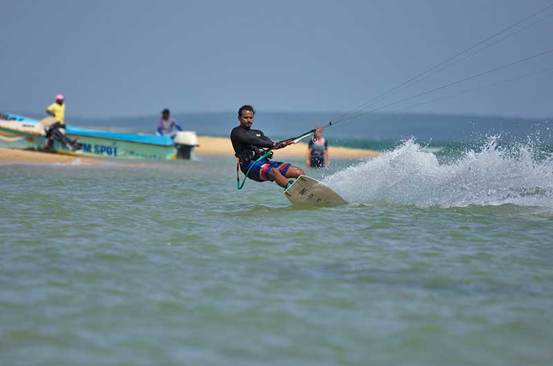 best kite surf school in sri lanka