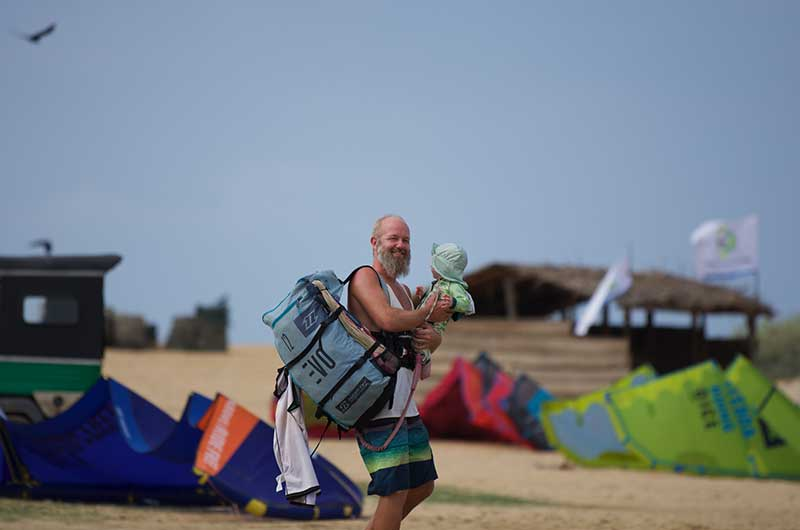 kite surf school in Sri Lanka