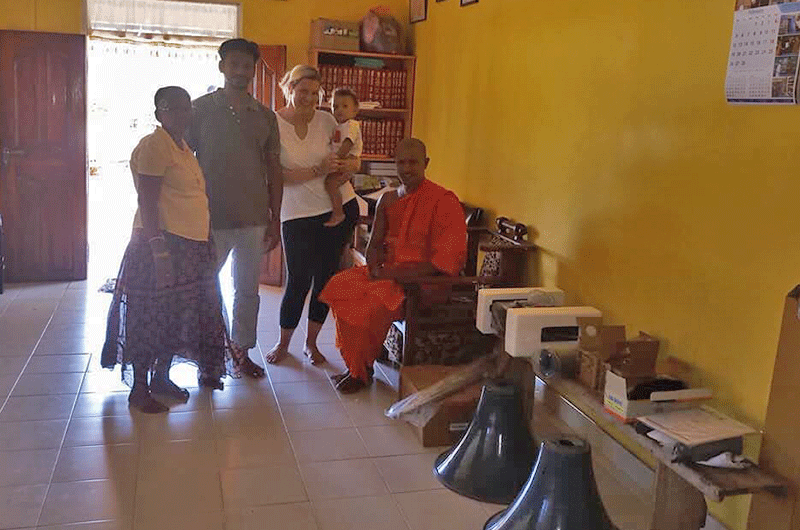 Donation for Buddhist Temple