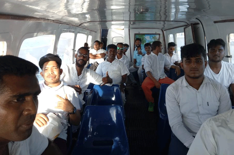 2019 on the road to Jaffna