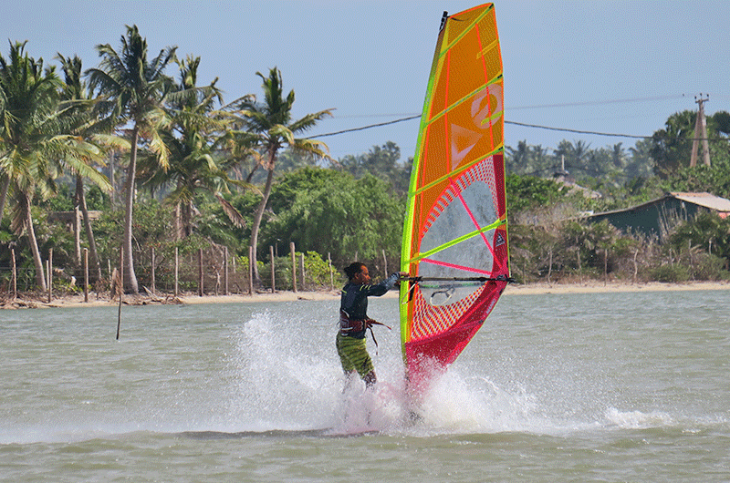 windsurf funboard in sri lanka