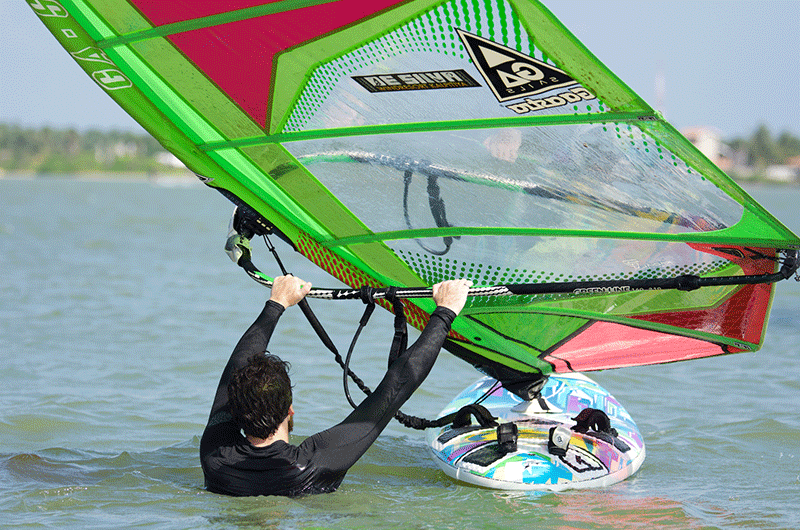 learn windsurf water start in sri lanka