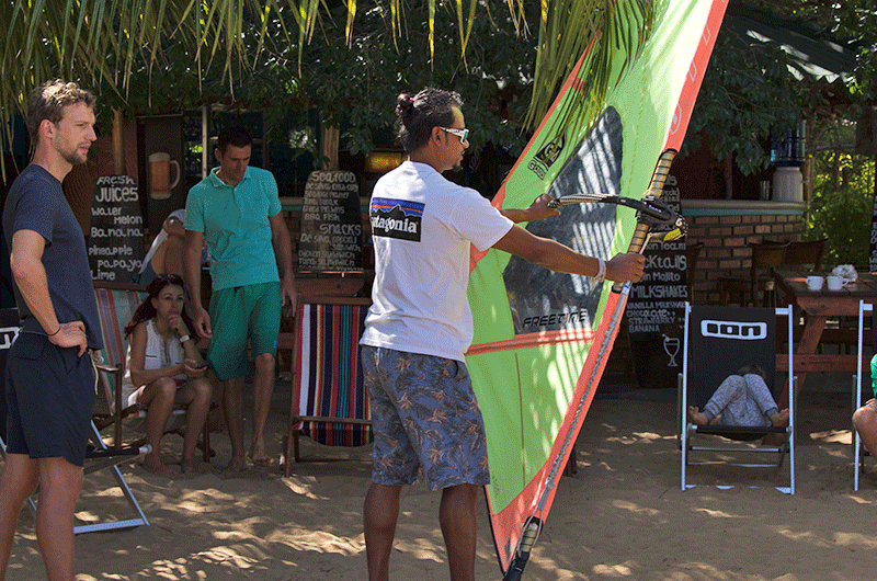 windsurfing simulator in sri lanka