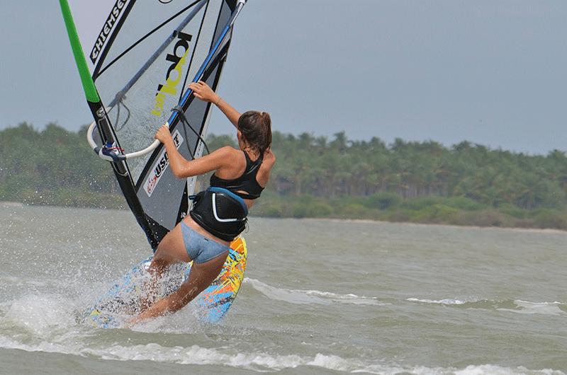 pro jibe windsurfing in sri lanka
