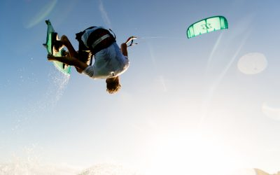 New high flights for De Silva Kiteschool