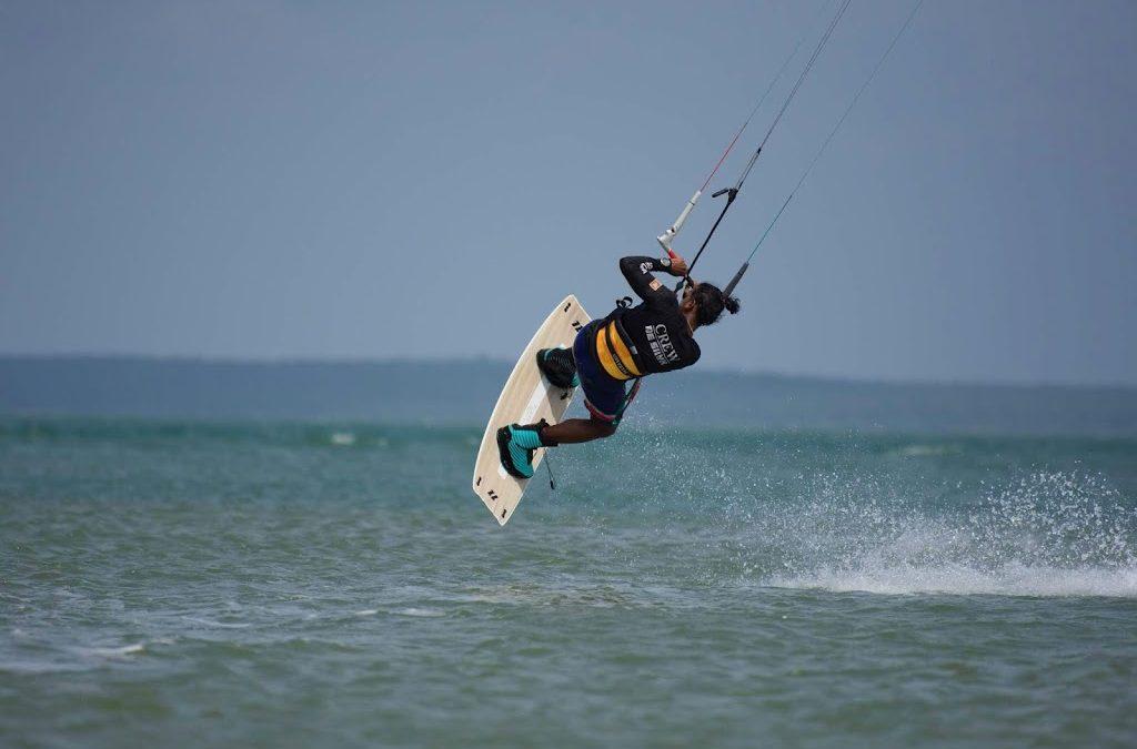 Kitesurfing in Sri Lanka Vella Island
