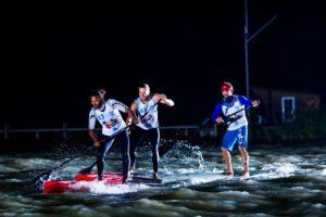 Upul De Silva Stand Up Paddling race