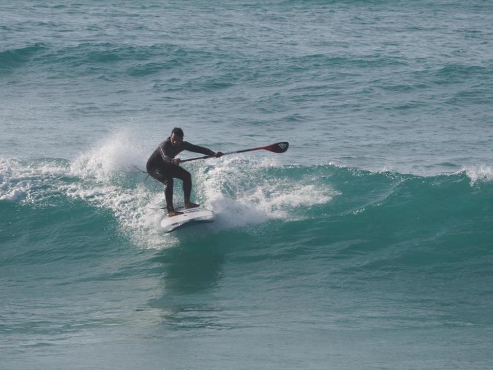 Sri Lankan waterman SUP