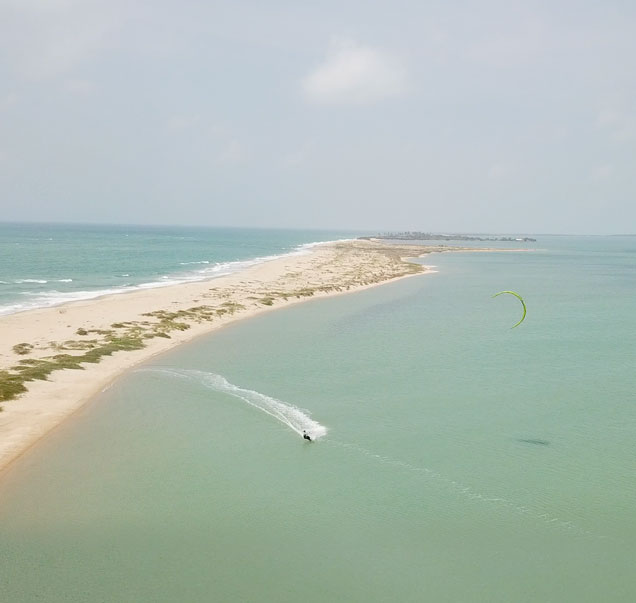 Kiteurlaub in Sri Lanka