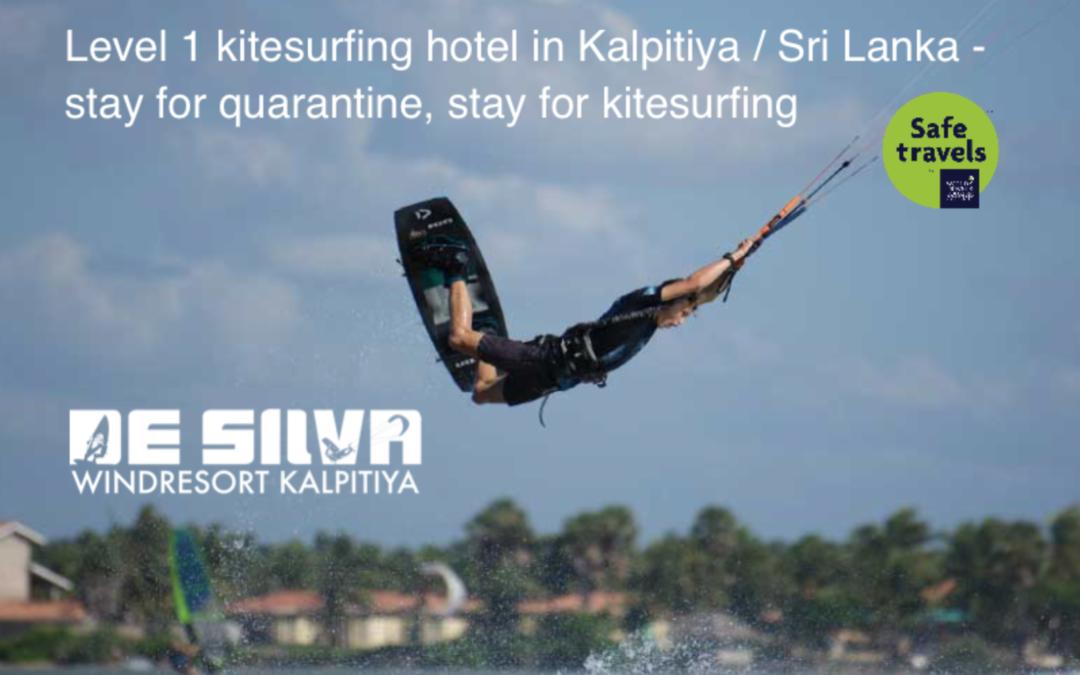 Kitesurfing hotel Level 1 Sri Lanka