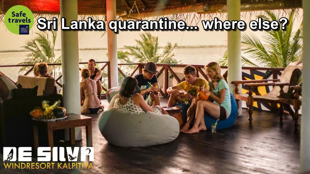safe travel kitesurfing srilanka