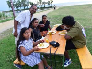 intercultural kitesurf meeting Podersdorf and Srilanka