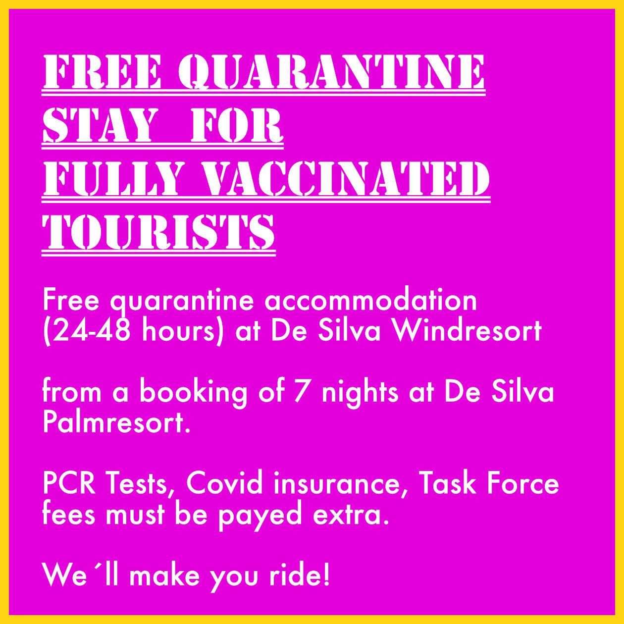 free quarantine hotel offer sri lanka